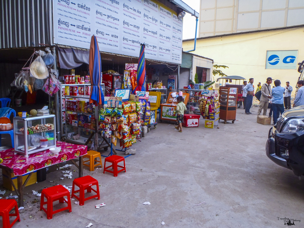 One of the many convenience stores in Phnom Penh