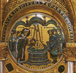 Emperor Constantine's Baptism