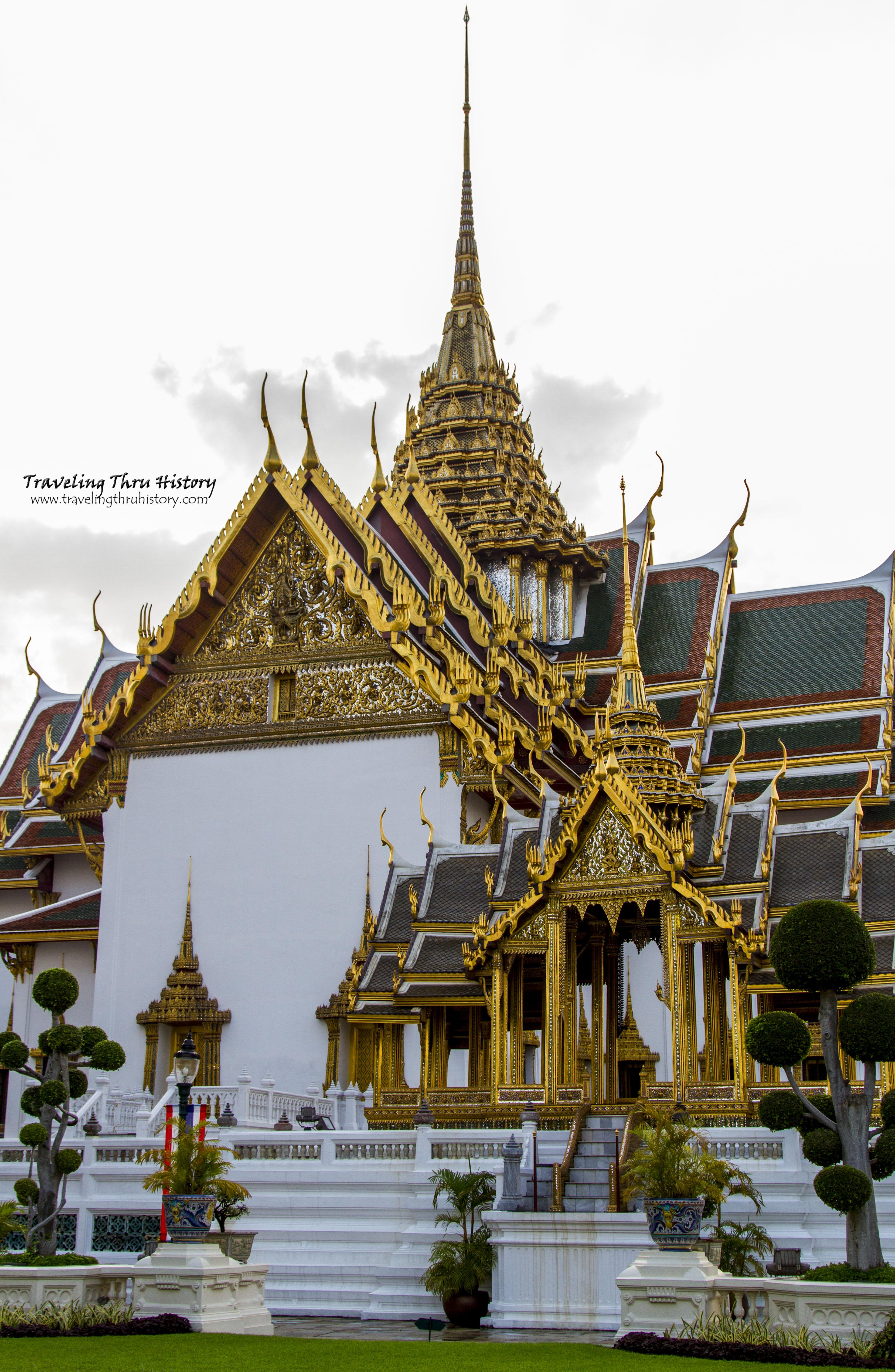 Phra Thinang Aphorn Phimok Prasat  Traveling Thru History